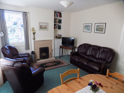 living room self catering